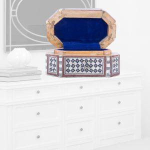 Antique wooden Jewelry Box | Jewelry Box For Sale | Swan Bazaar