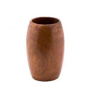 Decorative Wooden Vase hand-made of Asersus wood for a special natural beauty for your décor
