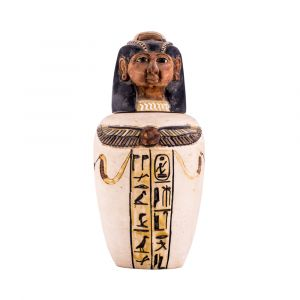 Authentic Canopic Jars For Sale | Egyptian Canopic Jars for Sale