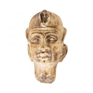 HandgravedGranite Head of King Ramses II, shop now