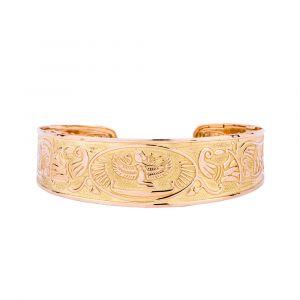 Ancient Egyptian Bracelets | Gold BraceletCuff