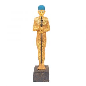 One of The Major Collection Of Egyptian Replica For Sale, God Ptah Statue, Handmade by talented Egyptian Artists
