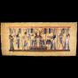 Royal Papyrus Portrait of Nefertari's Coronation in front of Goddess Hathor.