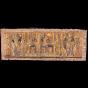 Unique masterpiece Egyptian papyrus of a Historical scene for Queen Nefertari's coronation.