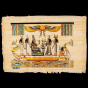 Royal Egyptian Papyrus depicts Queen Nefertari on the boat while her journey to eternal life, Nefertari papyrus