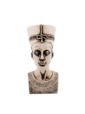 Front Image of the Alabaster Queen Nefertiti Statue Buy