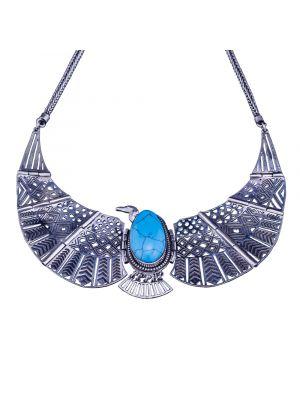 Egyptian Bird Necklace   vintage silver necklaces
