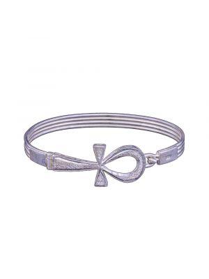 Ancient Egyptian Key of Life Silver Ankh Bracelet | Ankh Silver Bracelet