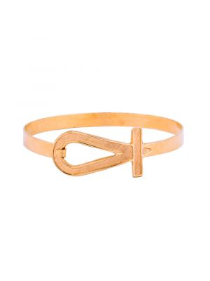 Gold Key of Life Bracelet
