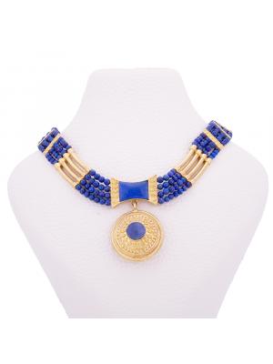 Gold Gemstone Necklace
