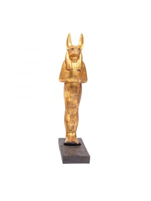 Iconic statue of Anubis Statue For Sale, Handmade of Master materials by Talented Egyptian Handcraftsmen