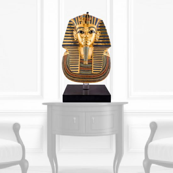 The magnificent Funerary Egyptian Gold Mask of King Tut Replica