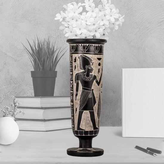 Egyptian Vases for Sale | Black Basalt | Egyptian Vases