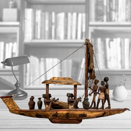 Egyptian Sun Boat | Ancient Egyptian Artifacts For Sale