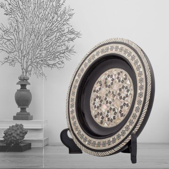 Decorative Plates For Sale | Mother Of Pearl Plates | Swan Bazaar