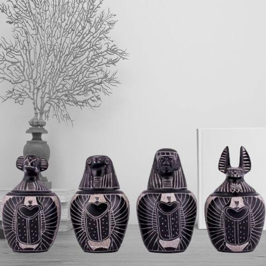 Canopic Jars | Canopic Jars for Sale | Egyptian Canopic Jars