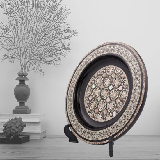 Arabesque Antique Plate | Decorative Plate | Swan Bazaar