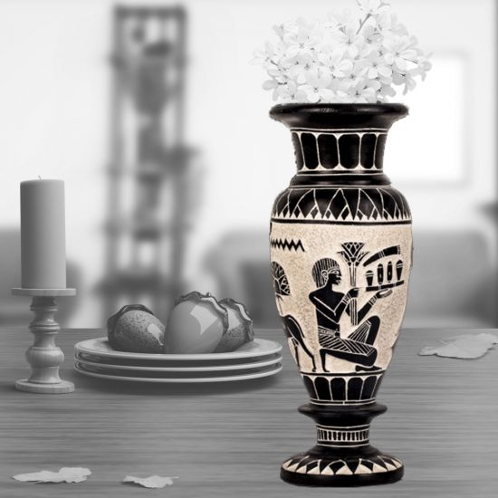 Black Basalt Vase   Vases For Sale   Egyptian Antiquities
