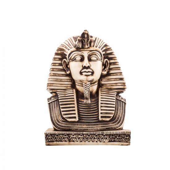 Alabaster Handmade the Death Mask Of King Tutankhamun, Tut Statue Mask For Sale