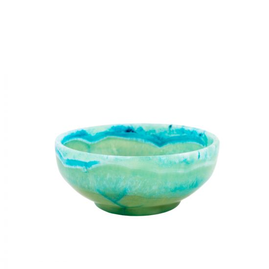 Turquoise Fruit Bowl