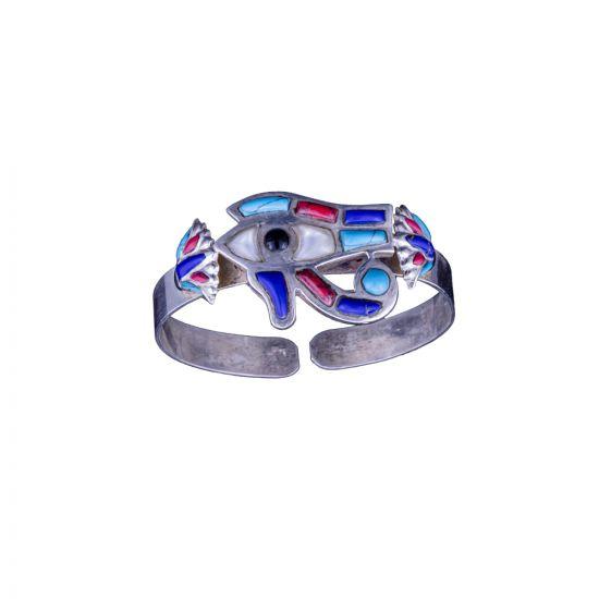 The Protective Eye of Horus Bracelet handmade, Horus Eye Bracelet