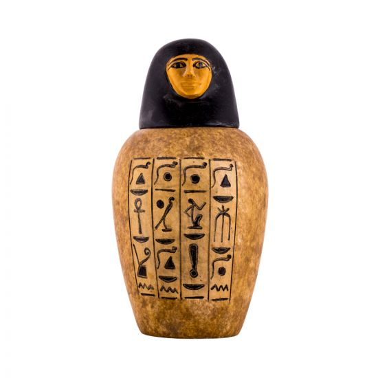 Shiny doll Canopic jar