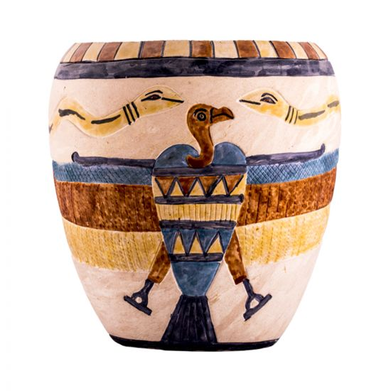 Goddess Isis flower pot