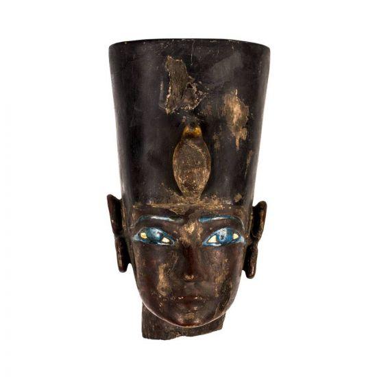 Fantastic Ramesses II Wood Head