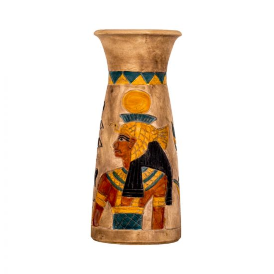 limestone vases Of Egyptian Icon