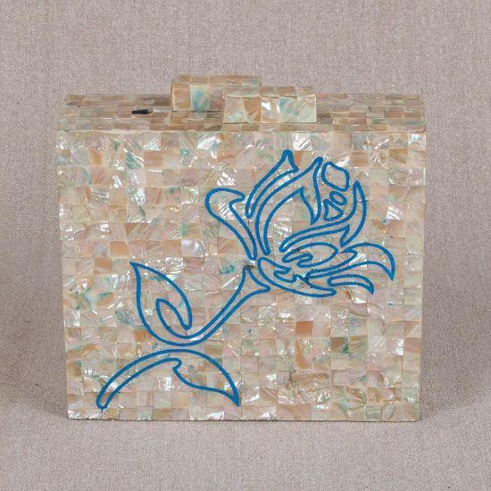 Pearl Clutch Purse | Mother of Pearl Handbag | Pearl Bag | Mother of Pearl Clutches | Mother of Pearl Purse | Swan Bazaar