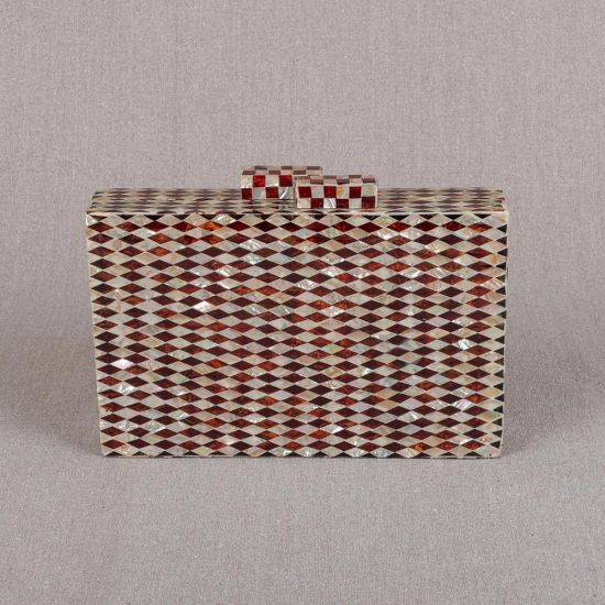 Mother of Pearl Handbag | Pearl Clutch Purse | Pearl Bag | Mother of Pearl Clutches | Mother of Pearl Purse | Swan Bazaar