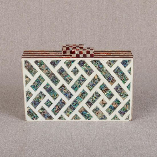 Mother of Pearl Purse | Pearl Clutches | Mother of Pearl | Mother of Pearl Clutches | Mother of Pearl Purse | White Pearl Purse | White Pearl Clutch Bag | Pearl Bag | Swan Bazaar