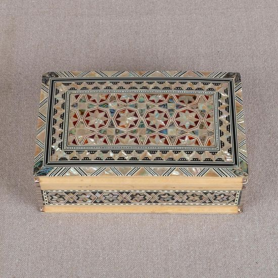 Islamic Jewelry Box | Best Place to Buy a Jewelry Box | Mother of Pearl Jewelry Box | Mother of Pearl Boxes | Swan Bazaar