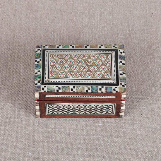 Antique Jewelry Boxes | Mother of Pearl Inlay Box | Mother of Pearl Jewelry Box | Mother of Pearl Boxes