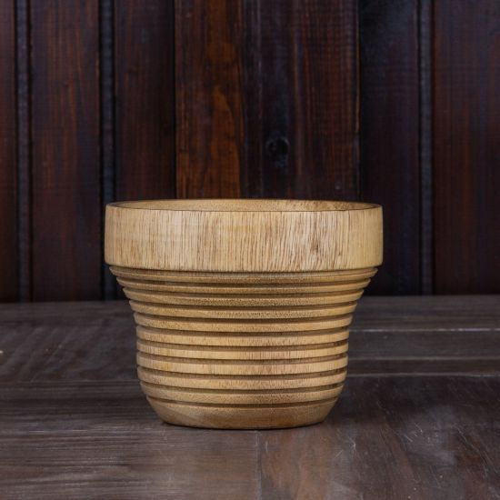 wooden pot for plant