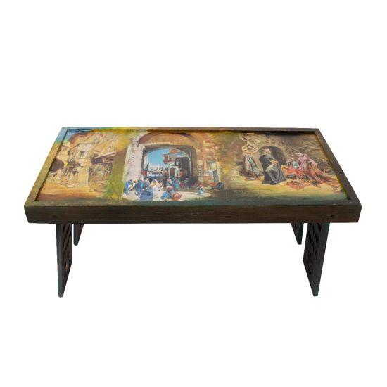 Handmade Table | Egyptian House Decor | Swan Bazaar