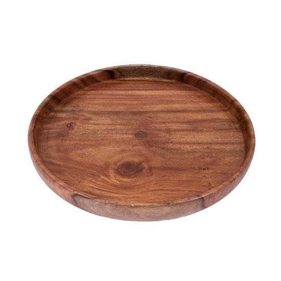 Wood Serving Tray Round | Serving Trays For Sale
