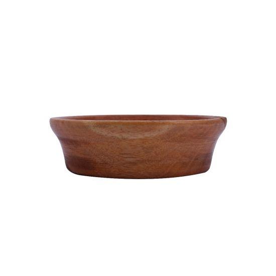 Khaya Wood Snack Bowl