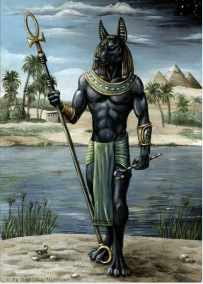 The God of Mummification : Anubis