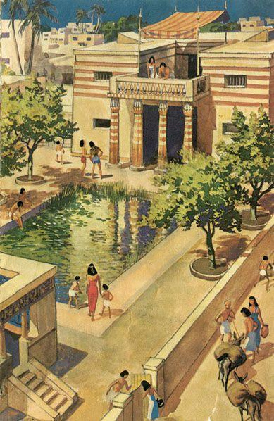 Ancient Egyptian's houses