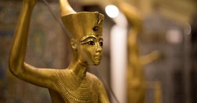 The Exposure of King Tut's treasure in The Grand Egyptian Museum