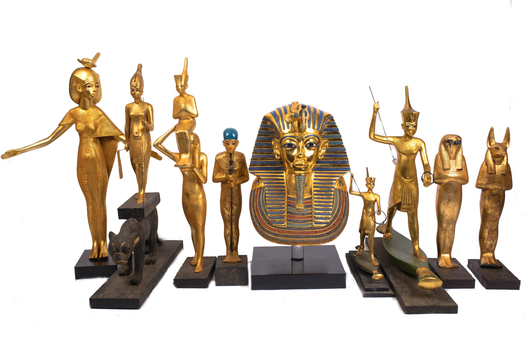 Find out about King Tut Treasure Pieces that were found in the King's Tomb, and know more about the history of the King, Read more now