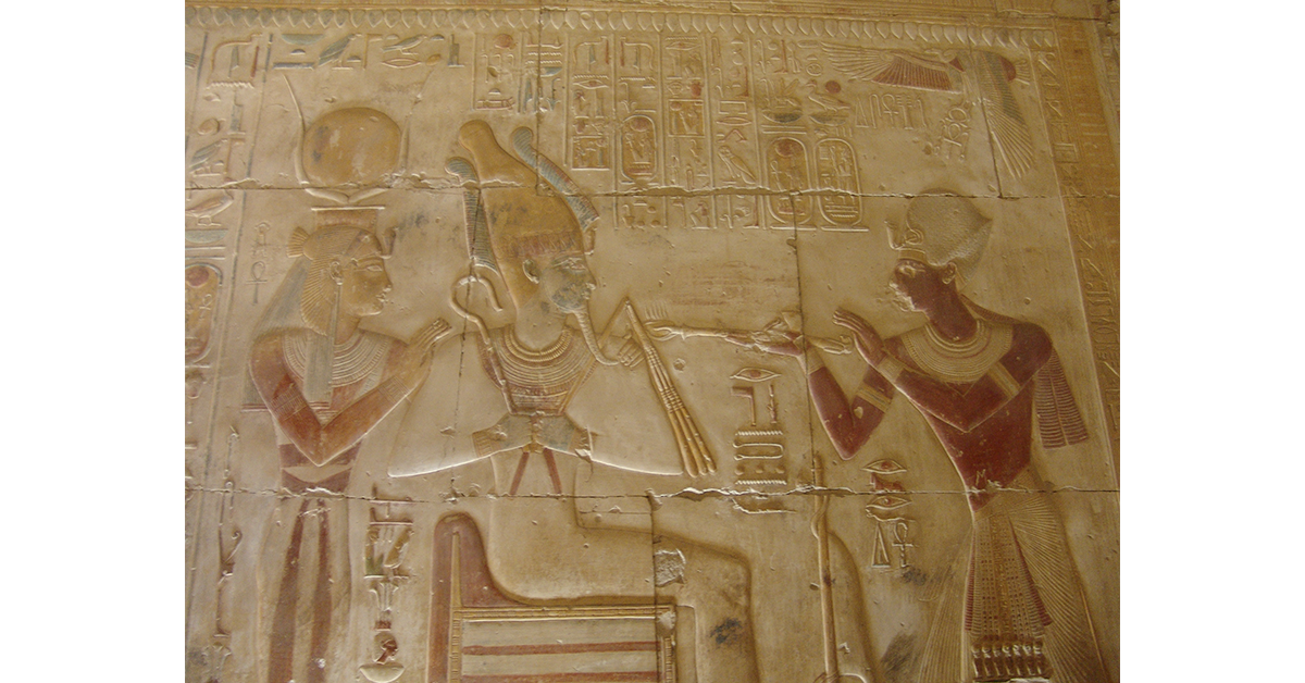 God Osiris and Goddess Hathor-Ancient Egyptian Gods, Find out now about the most influential Gods and Goddesses in the Ancient Egyptian History